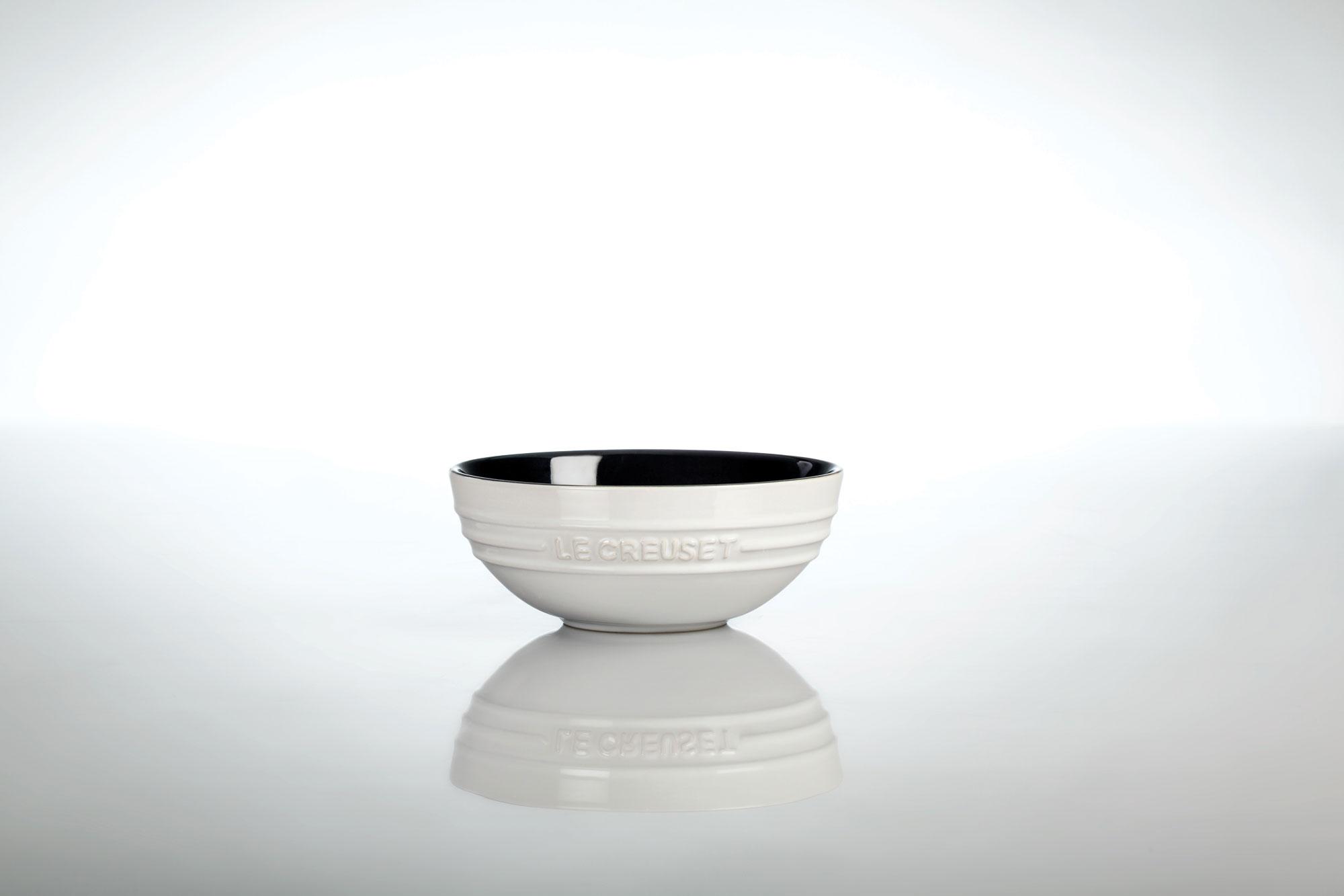 Le Creuset Stoneware Multi Bowl Set 3 Piece Black