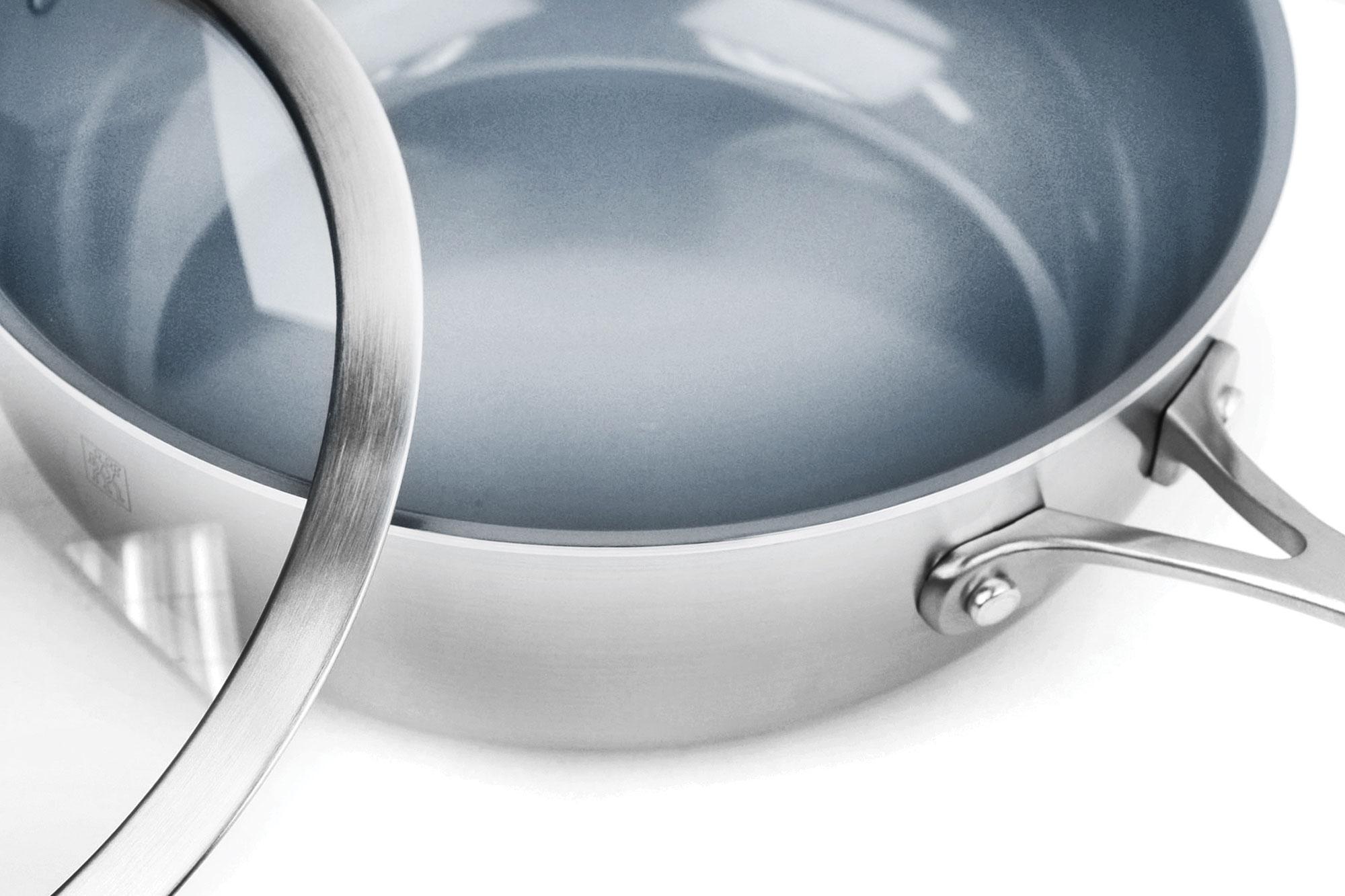 Zwilling Spirit Ceramic Nonstick Perfect Pan 4 6 Quart By