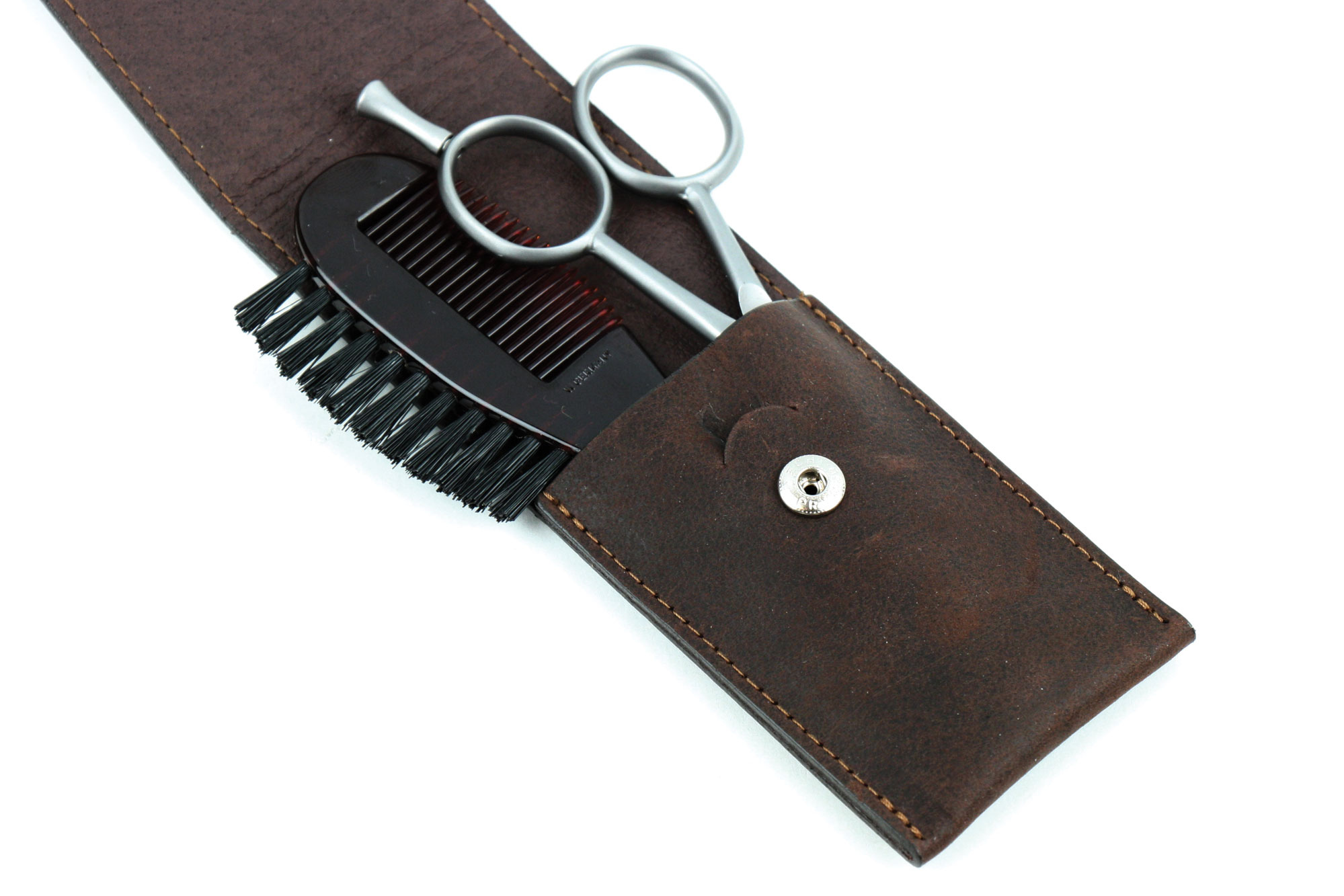 Dovo Moustache Amp Beard Grooming Set 3 Piece Cutlery And