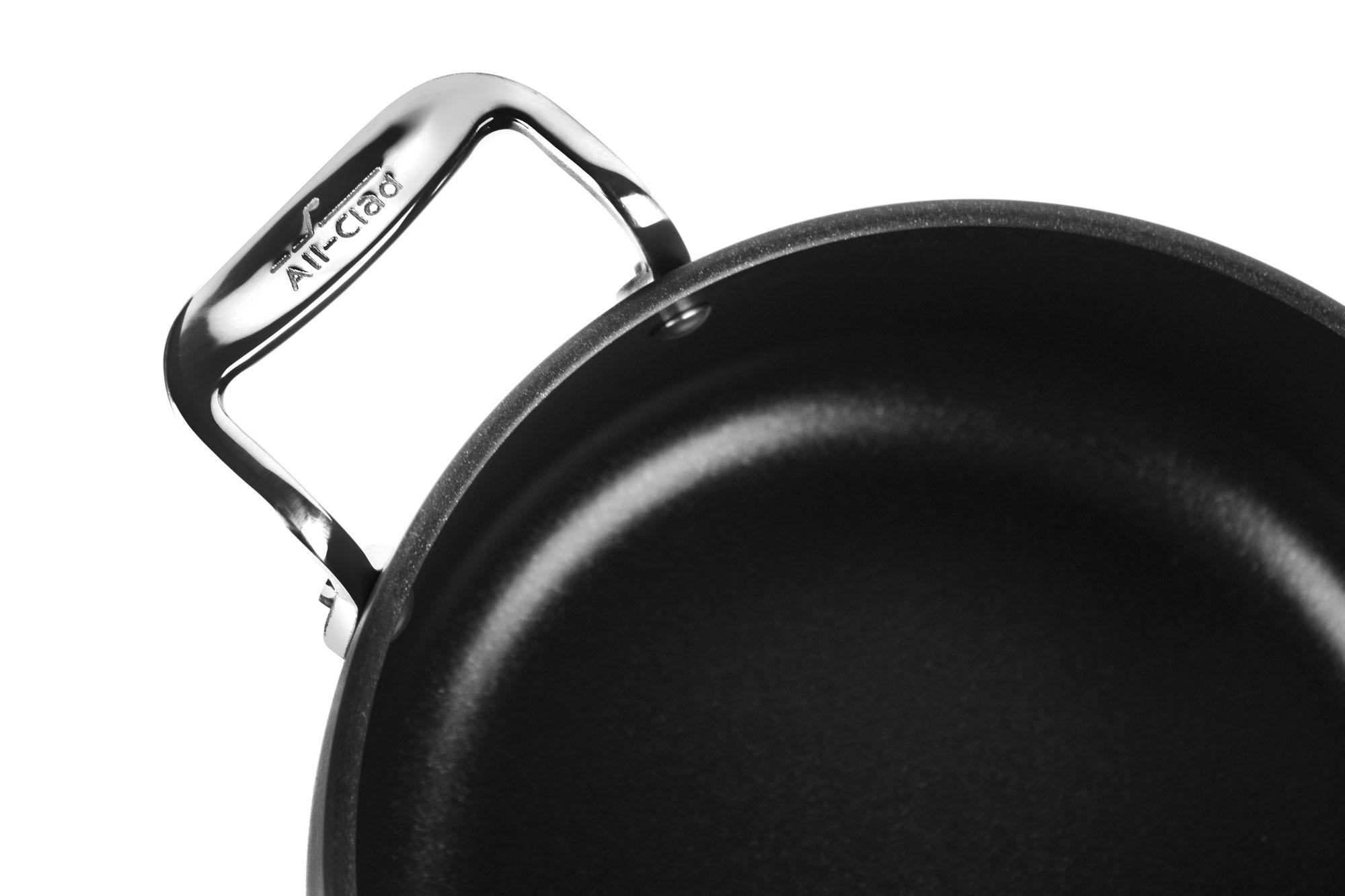 All Clad Ha1 Nonstick Saucepan 3 5 Quart Cutlery And More