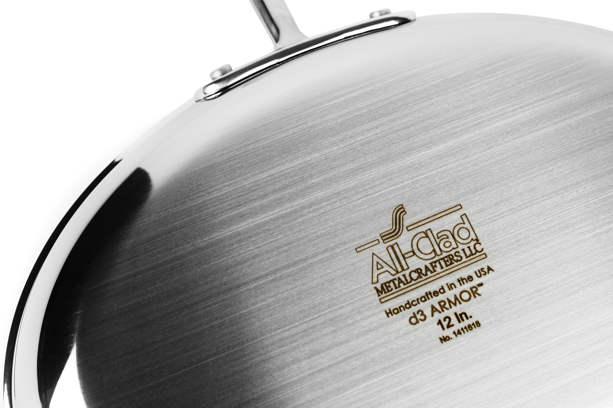 All Clad D3 Stainless D3 Armor Oval Skillet 12 Quot Cutlery
