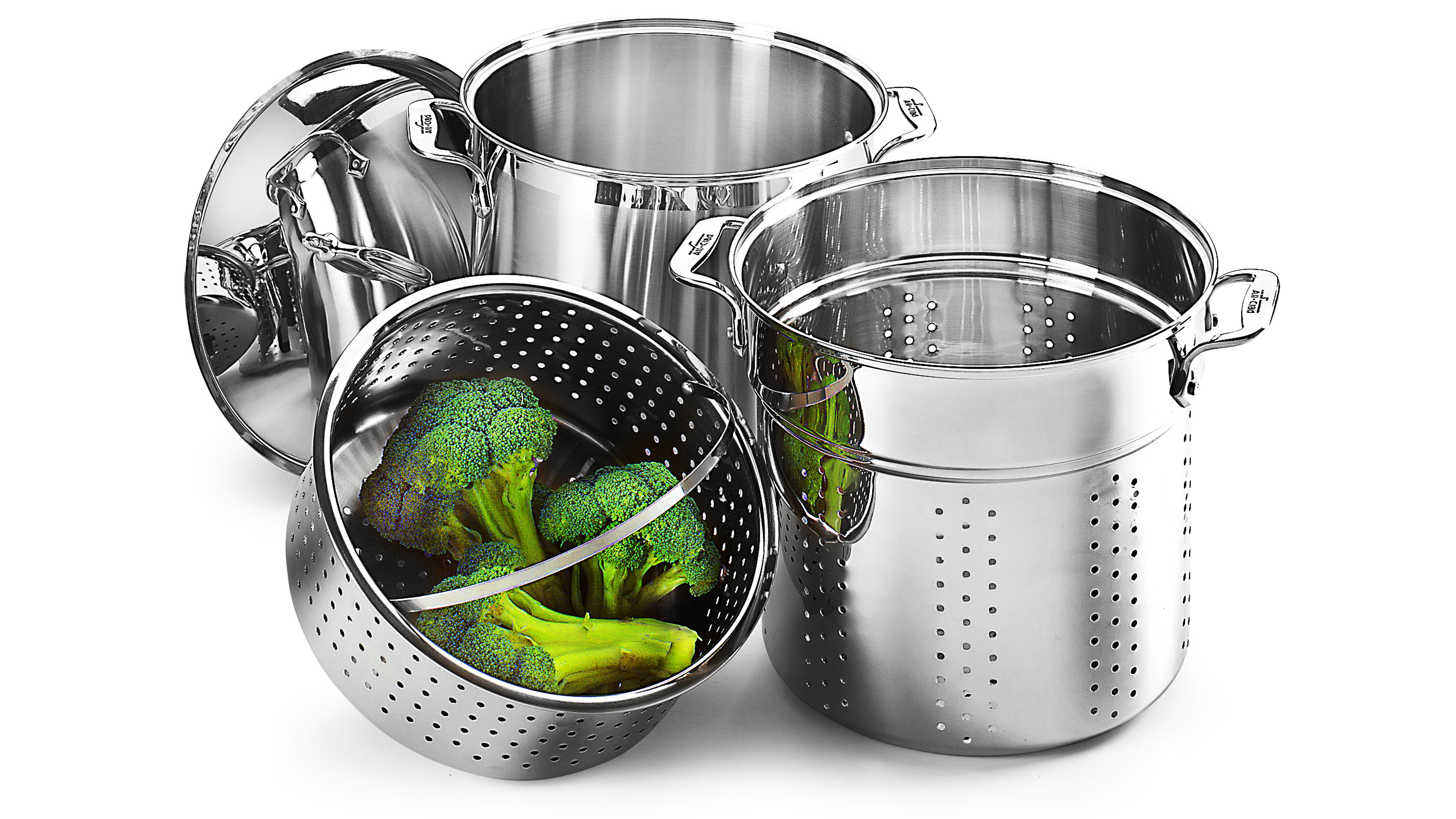 All Clad Stainless Steel Multi Function Stock Pot 12
