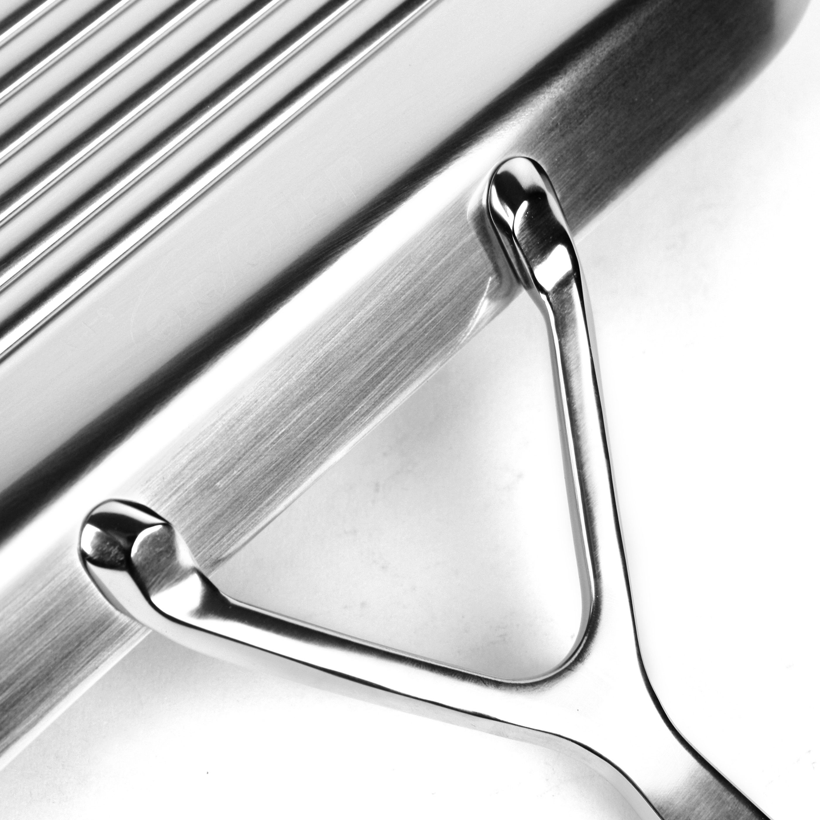 Demeyere 5 Plus Stainless Steel Grill Pan 11 Quot Cutlery