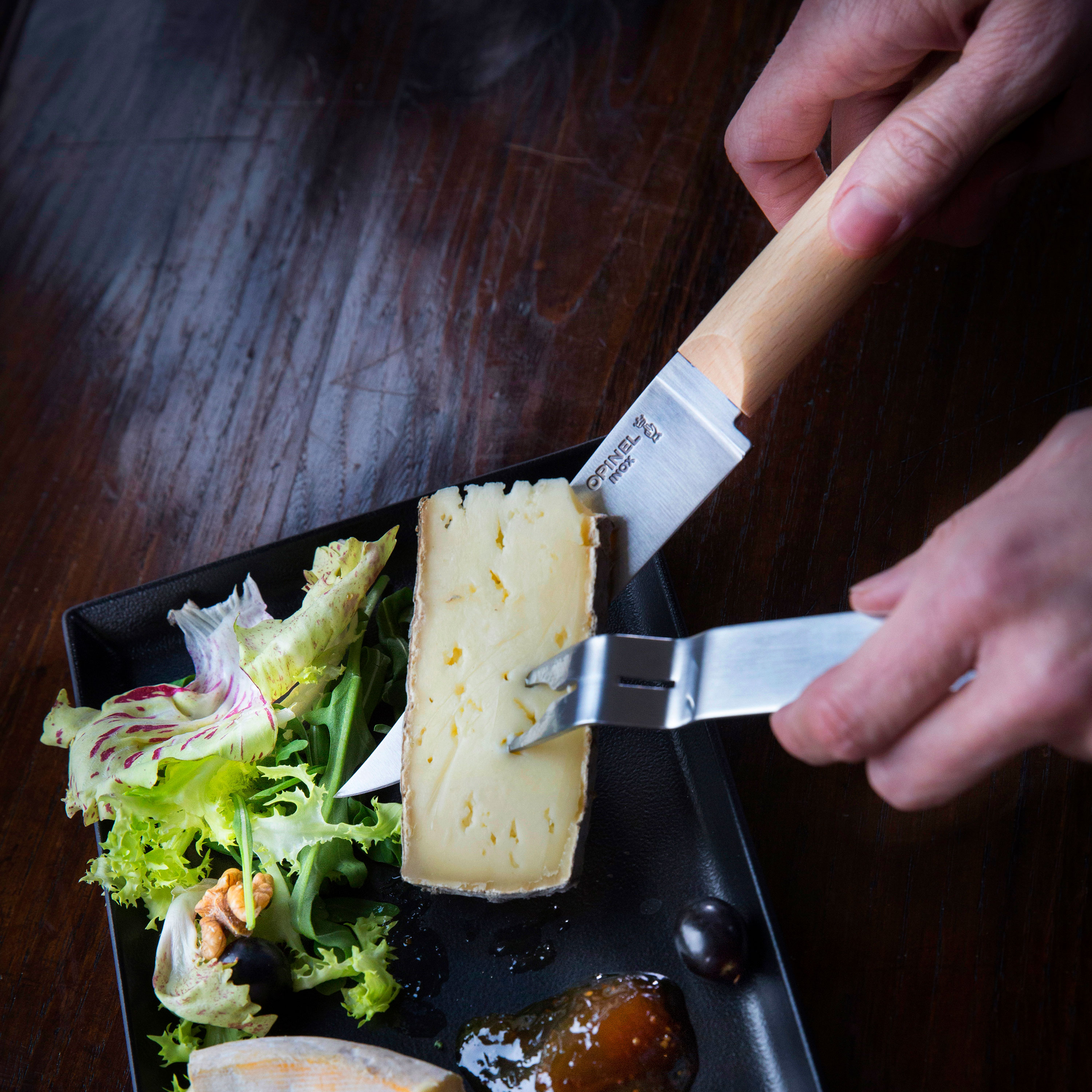 Opinel Cheese Knife Set Cutlery And More