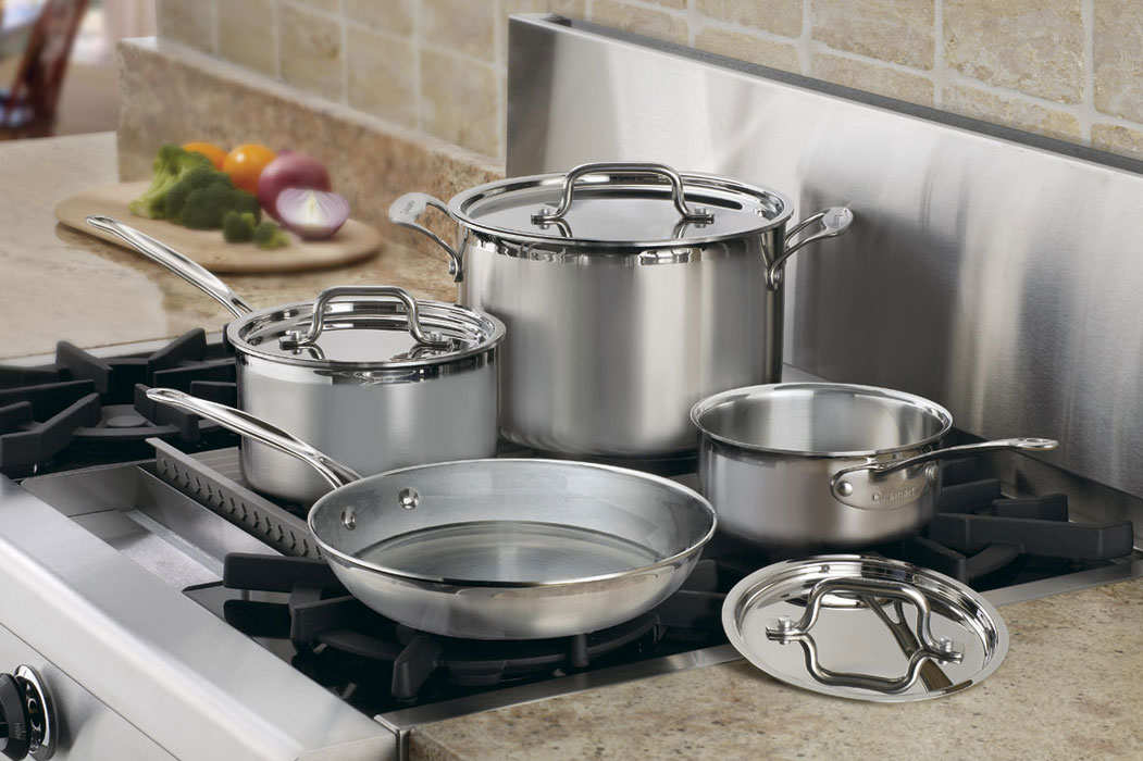 Cuisinart Multiclad Pro Stainless Steel Signature Cookware