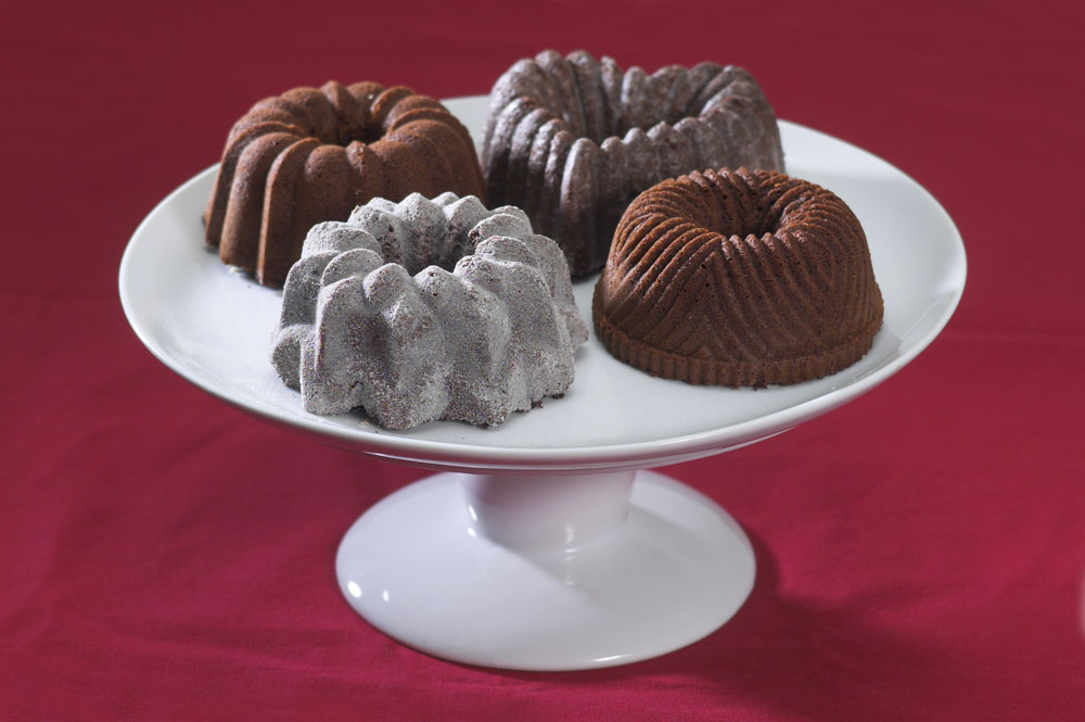 Nordicware Quartet Mini Bundt Pan 9 Cup Cutlery And More