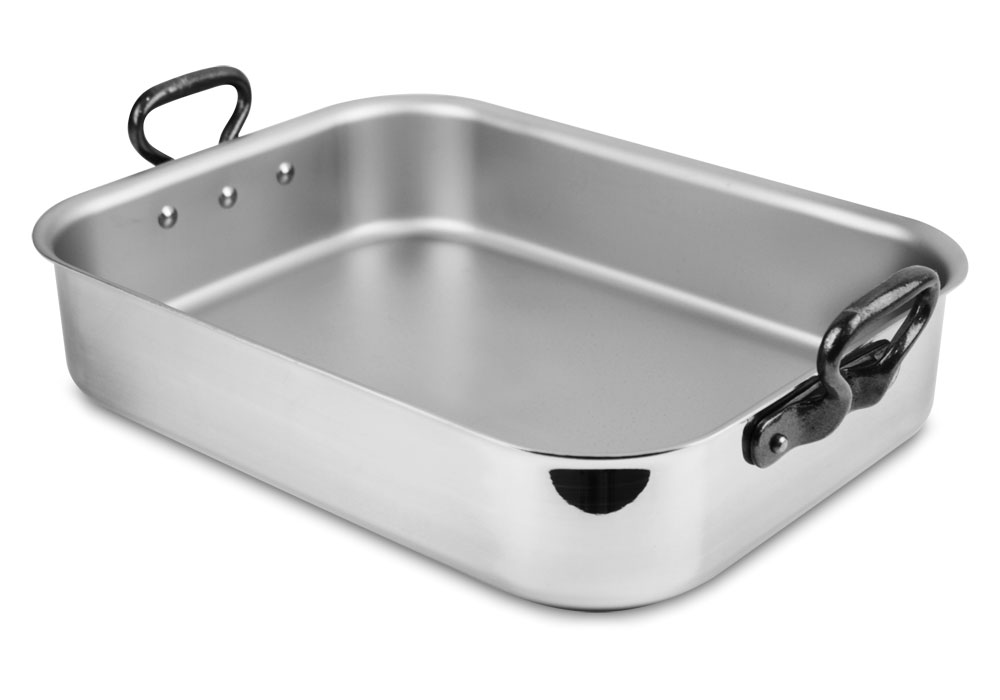 Mauviel Stainless Steel Roasting Pan With Rack Amp Injector