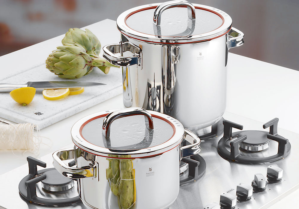 Wmf Function 4 Stainless Steel Low Casserole 4 Quart