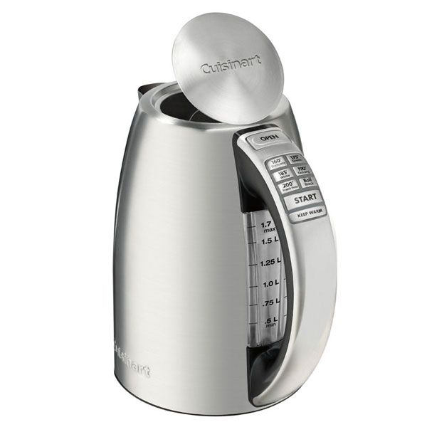 Cuisinart Perfectemp Stainless Steel Cordless Electric