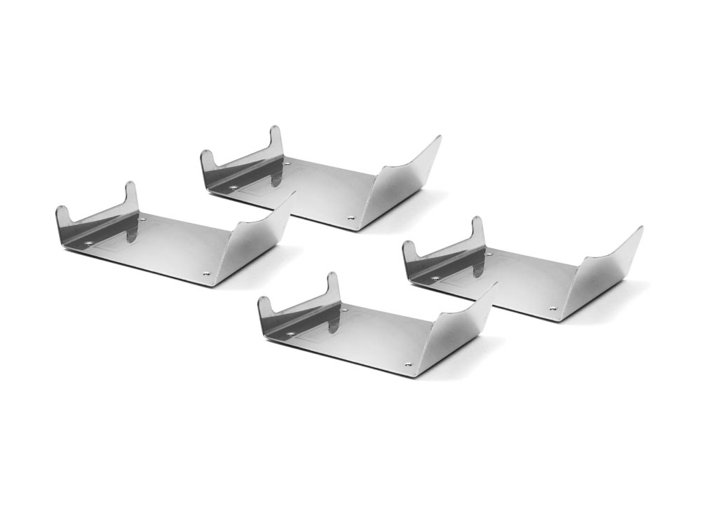 Swissmar 4 Piece Stainless Steel Raclette Dish Holder Set