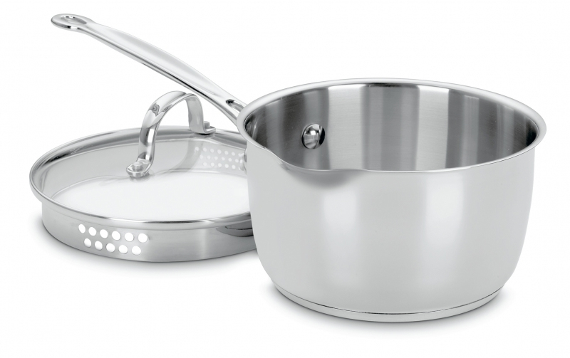 Cuisinart Chef's Classic 2-quart Stainless Steel Cook & Pour Saucepan