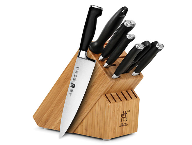 Zwilling J.A. Henckels Twin Four Star II 8 Piece Knife Block Set