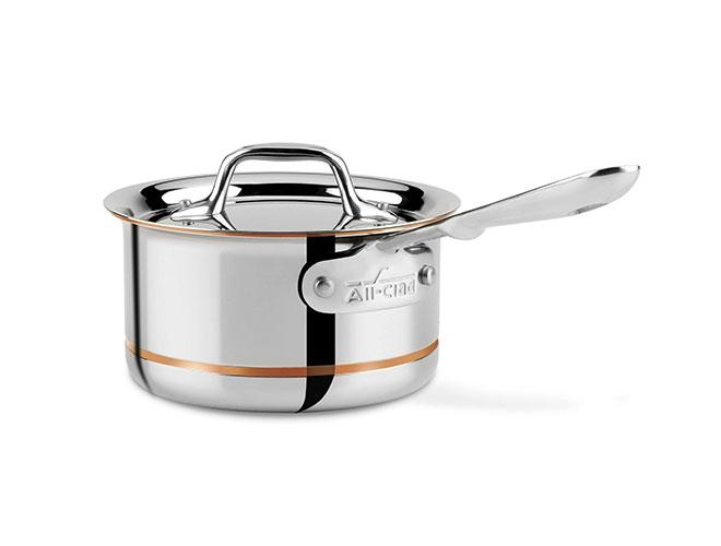 All-Clad Copper Core Saucepans