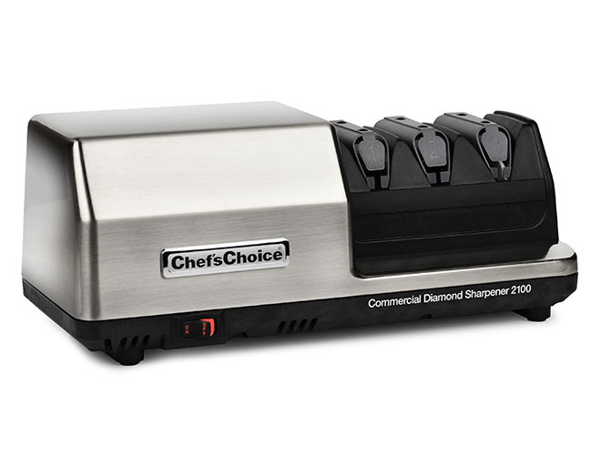 Chef's Choice 3 Stage Stainless Steel Model 2100 Commercial Electric Knife Sharpener