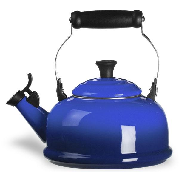 Le Creuset Enameled Steel Whistling Tea Kettle 1 8 Quart