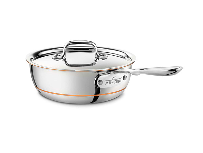 All-Clad Copper Core 2-quart Saucier