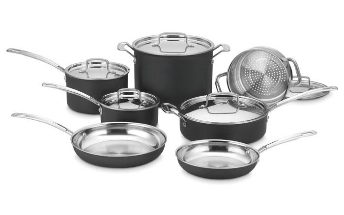 Cuisinart Multiclad Unlimited Cookware Set 12 Piece