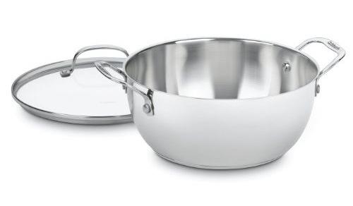 Cuisinart Chef's Classic 5.5-quart Stainless Steel Multi-Purpose Stock Pot