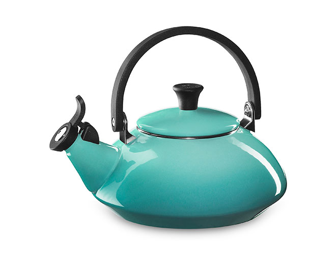 Le Creuset Enameled Steel 1.6-quart Zen Tea Kettles