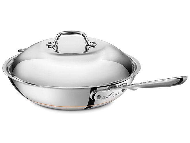 All-Clad Copper Core 4-quart Chef's Pan