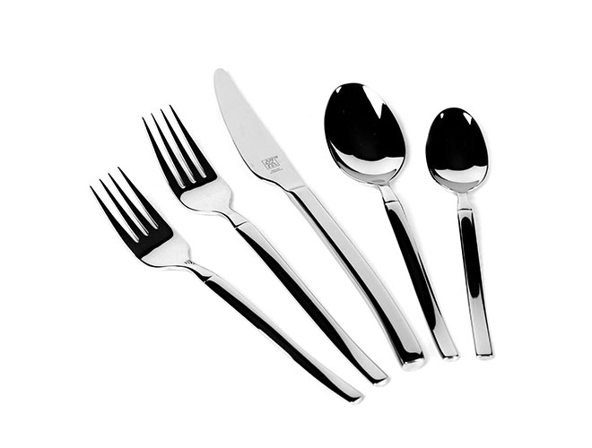 Zwilling J.A. Henckels 45 Piece Opus Stainless Steel Flatware Set