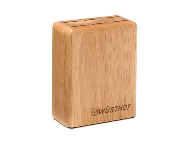 Wusthof 6 Slot Hardwood Steak Knife Block