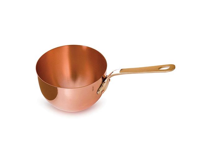 Mauviel M'passion 3.2-quart Copper Zabaglione Pan