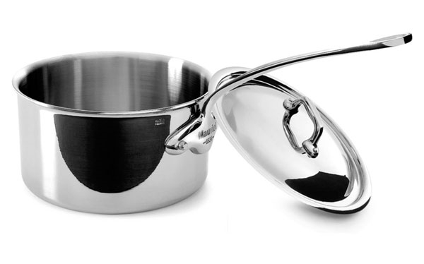 Mauviel M'cook Stainless Steel 2.7-quart Saucepan
