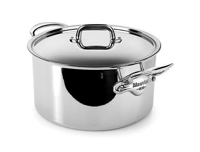 Mauviel M'cook Stainless Steel Stock Pots