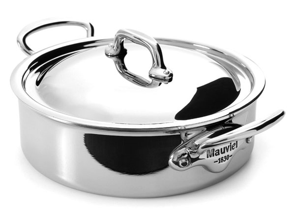 Mauviel M'cook Stainless Steel Rondeaus