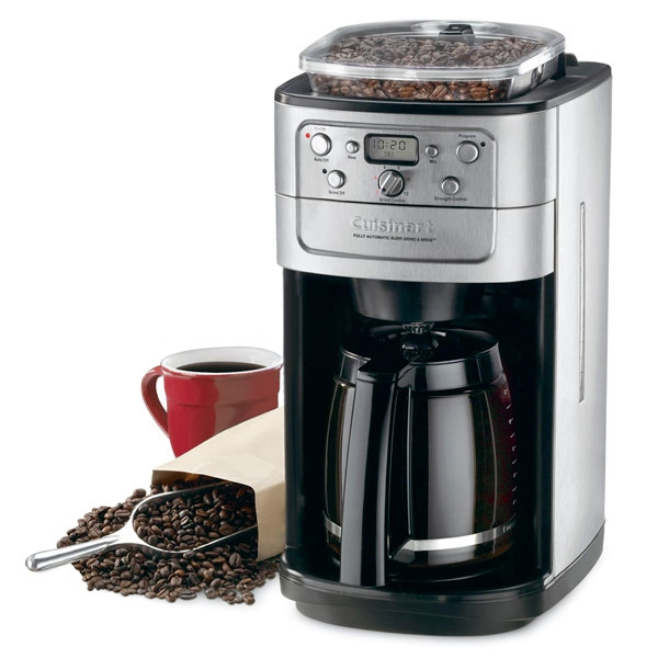 Cuisinart Grind Amp Brew Automatic Coffee Maker With Burr