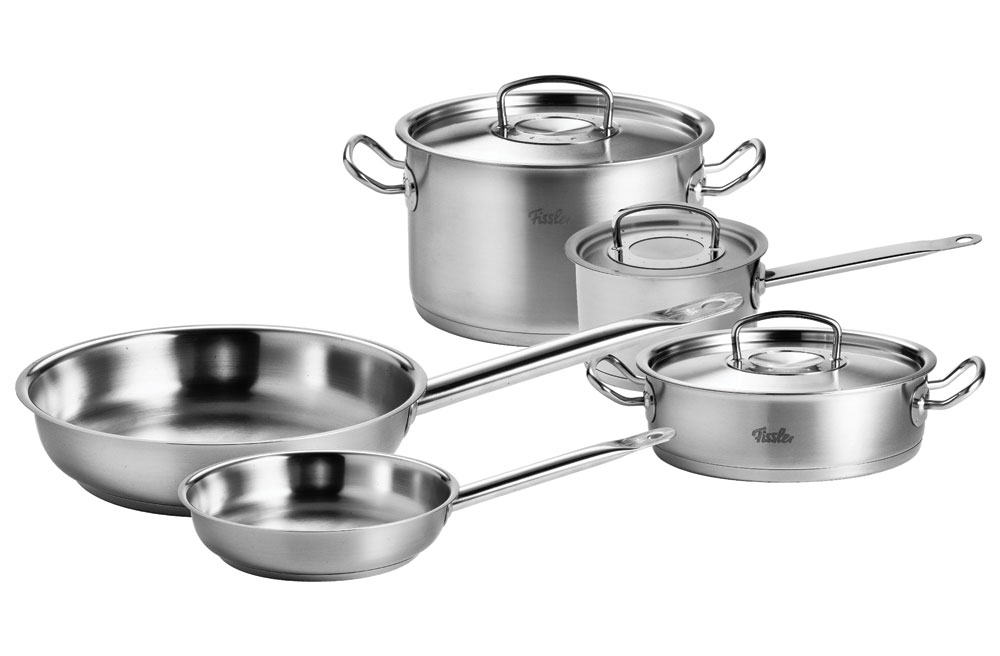 Fissler Original Pro Stainless Steel Cookware Set 8 Piece