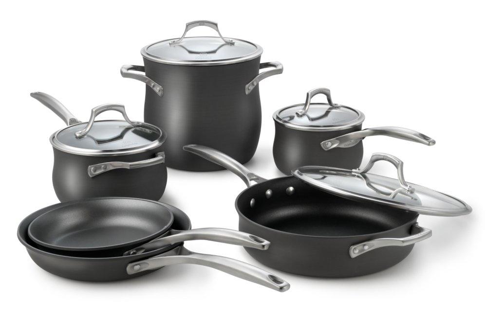 Calphalon Unison Slide & Sear Nonstick Premier Cookware Set ...