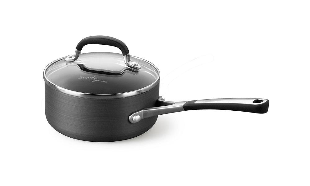 Calphalon Simply Nonstick Saucepan 1 Quart Cutlery And More