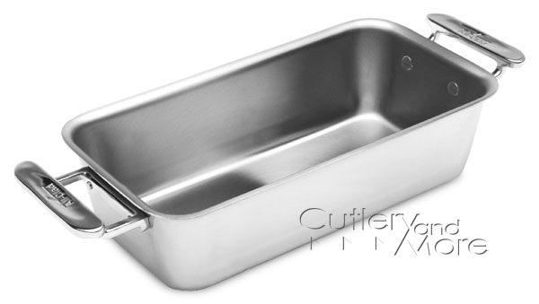 All Clad D3 Stainless Loaf Pan 10x5x2 75 Quot Cutlery And More