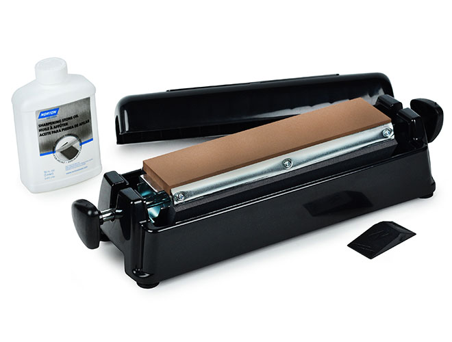 Norton IM313-CIS Arkansas Pro 3-Way Multi Oil Stone Sharpening System