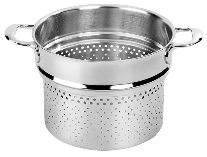 Demeyere Atlantis Pasta Insert for 8.5-quart Stock Pot
