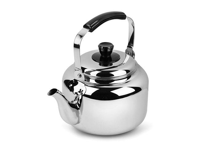 Demeyere Resto 4.2-quart Stainless Steel Tea Kettle