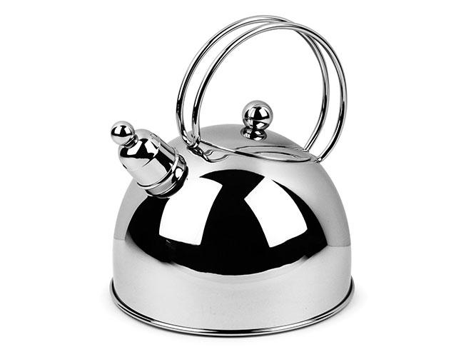 Demeyere Resto 2.6-quart Stainless Steel Whistling Tea Kettle