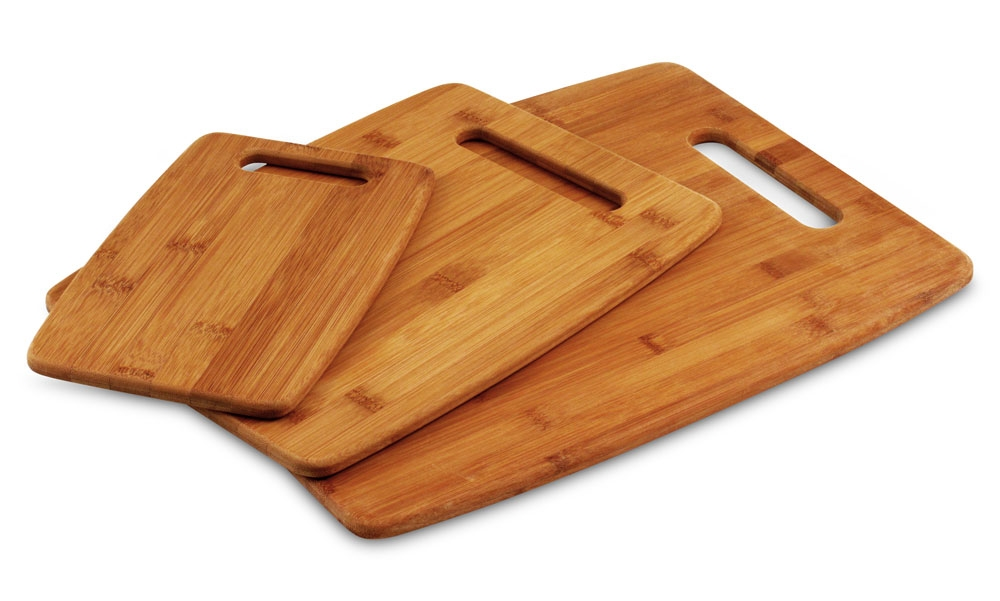 Totally Bamboo Bamboo Cutting Board Set 3 Piece Cutlery And More