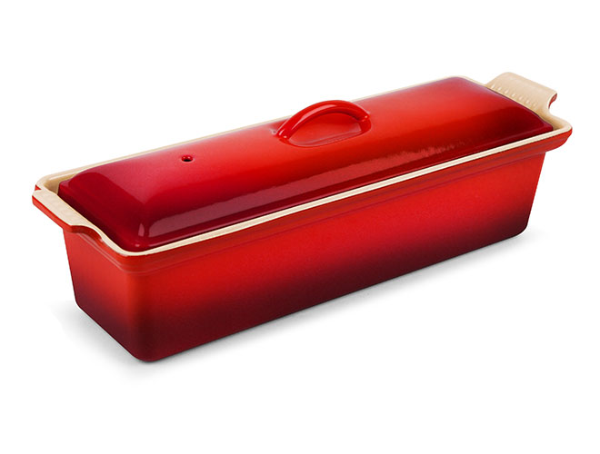 Le Creuset Cast Iron 2-quart Cherry Red Pate Terrine
