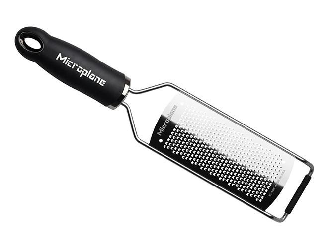 Microplane Gourmet Black Fine Grater