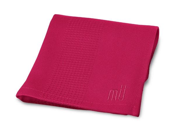 """MUKitchen 12x12"""" Pomegranate Bamboo Dish Cloth"""