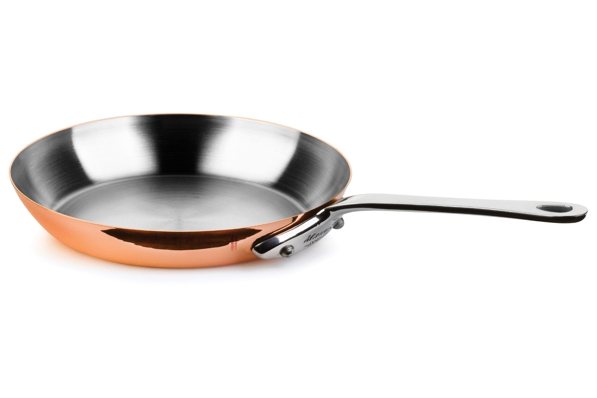 "Mauviel M'heritage 150S 11.8"" Copper Skillet"