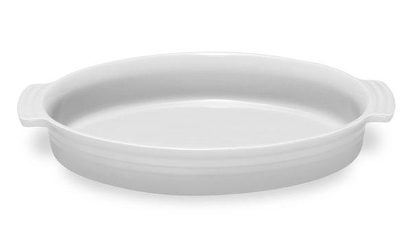 Le Creuset Stoneware 14-Inch Oval Baking Dish White