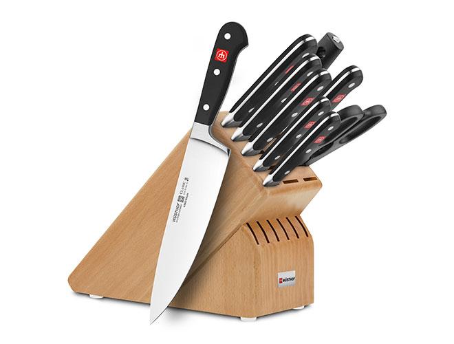 Wusthof Classic 10-piece Knife Block Sets