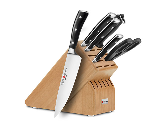 Wusthof Classic Ikon 7-piece Knife Block Sets