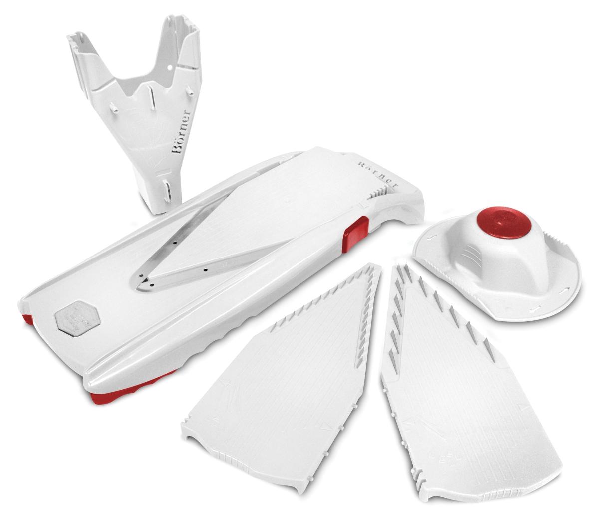 Borner White V-Power Mandoline Slicer