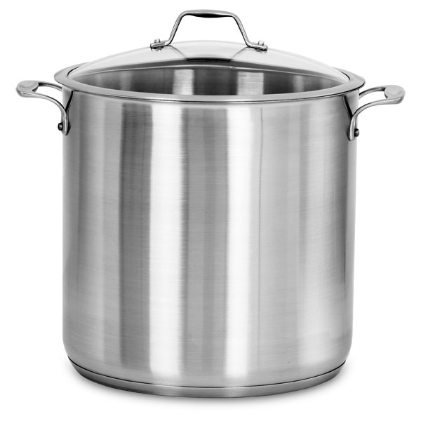 American Kitchen Stainless Steel Stock Pot 20 Quart Cutlery And More