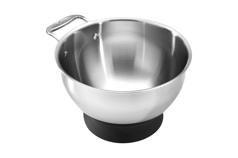 All Clad Spherical Mixing Bowl With Base 3 Quart
